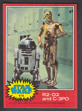 Topps Star Wars - Series 2 1977 - # 41A R2-D2 and C-3PO
