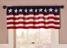 Americana Valance Red White Blue Star Spangled Flag IN STOCK 60x15 Patriotic