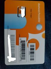 At&T Nano 4Ff Sim Card • Gsm 4Glte • New Genuine Oem Prepaid or Contract