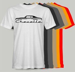 CHEVROLET CHEVELLE Retro T-Shirt SS RS chevy el camino nova speed shop