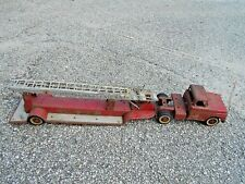Vintage 1960's Tonka Red No. 5 Fire Rescue Truck & Ariel Ladder Restore Project