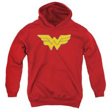 Wonder Woman DC Comics 'Logo' Kids Hoodie  (6-7 years)