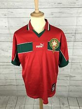 Mens Morocco Home Shirt - XL - 1997/98 - Puma - Great Condition