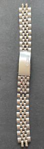 Vintage Seiko 14mm Women's Watch Bracelet mm Silver Beads of Rice Japan