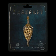 Warcraft King LLANE Sword + Shield Double Pin Set Weta Collectibles World of NEW