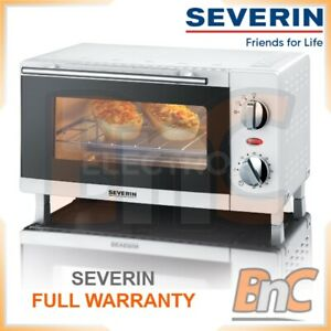 SEVERIN Mini Oven Electric 1500 W 20 L Compact Table Top Grill Baking Cooking