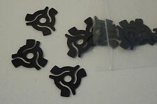"10 x 7"" VINYL 45rpm BLACK PLASTIC RECORD CENTRE ADAPTORS [ SPIDERS ]"