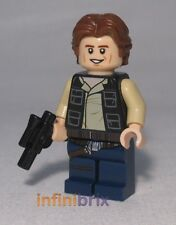 Lego Han Solo from Set 75159 Death Star, Star Wars Minifigure BRAND NEW sw771