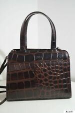OSPREY BROWN LEATHER HANDBAG TOTE SHOULDER MULTIWAY BAG