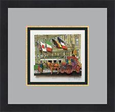 John Suchy The Plaza Hotel NYC L/ED Signed 3D POP ART Custom Framed FREE SHIP