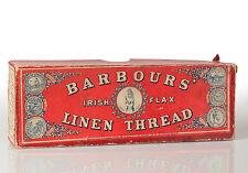 Barbour's Irish Flax Linen Thread Cardboard Box - 1888