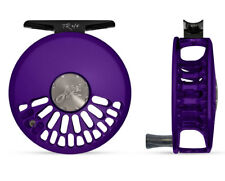 Abel TR 4/5 Fly Reel ( 4-5 WT Cick Pawl )  - Satin Purple with Ebony Wood Handle