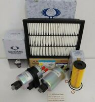 GENUINE NEW SSANGYONG ACTYON SPORTS FILTER PACK (OIL+AIR+FUEL+WATER  FILTER)
