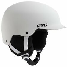 RED Mutiny Ski Snowboard Helmet White Small (55-57 CM) - New!