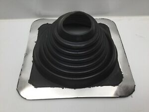 """Aztec Washer Company #4 SQ All Weather Pipe Flashing, 2 3/4"""" - 7"""" Range"""