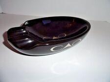 CAO Black  3 Cigar Bowl Ashtray -- BRAND NEW IN BOX