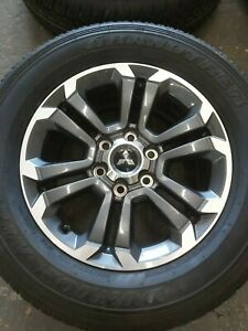 "Mitsubishi L200 18"" Alloy Wheels 2020"