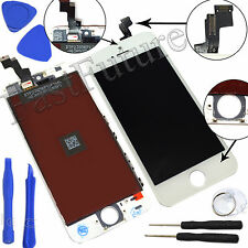 LCD Touch Screen Display Digitizer Assembly Replacement for iPhone 5S WhiteBlack