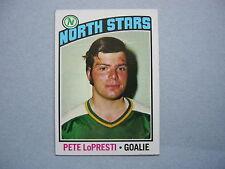 1976/77 TOPPS NHL HOCKEY CARD #184 PETE LOPRESTI ROOKIE NM SHARP!! 76/77 TOPPS