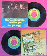 LP 45 7''THE COMMODORES Machine gun Are you happy 1974 italy MOTOWN no cd mc dvd
