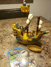 Veggietales The Pirates Who Don't Do Anything Pirate Ship & Figures Toy & Book