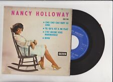 Nancy Holloway - Ciao Ciao Ciao baby so long - EP 4 titres Decca 45''