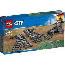 Lego City Set 60238 Scambi 1x Deviatoio Sinistro 1xweiche Destra 4x Incurvato