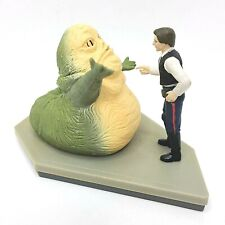 Applause Star Wars Han Solo Jabba The Hutt Jumbo Pvc Figurine Statue 1997 4 inch