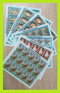 Equatorial Guinea 1976 European Birds - 15x Complet Series - MNH