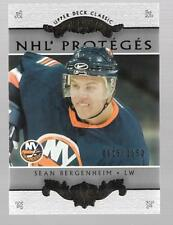 2003-04 UD CLASSIC PORTRAITS NHL' PROTEGES # 181 SEAN BERGENHEIM 0015/1150 !!