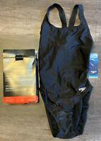 Speedo Women's Pro LT Super Pro Black Competitive Swimsuit Size 6/32