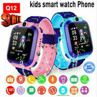 Smart Watch with GPS GSM Locator Touch Screen Tracker SOS for Children Kids pw