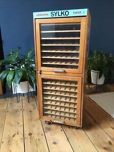 Sylko Three Shells Dewhurst's Machine Twist Haberdashery Cabinet Abel Morrell