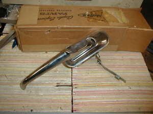 NOS MOPAR 1957-9 PLYMOUTH RIGHT FRONT DOOR HANDLE