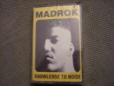 SEALED RARE OOP Madrok CASSETTE TAPE Knowledge To Noise 1992 rap Ohio Players !
