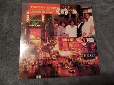 Timothy Wright & Eternal Life Singers Living In A World LP Gospel EX