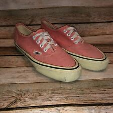 Vintage 70/80s Vans Authentic Made In Usa