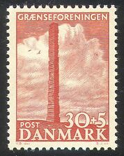 Dinamarca 1953 frontera fondo Unión/Monumento Piedra/artesanal/escultura 1 V (n41673)