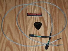 Gibson Les Paul Pickup Wire Set Shielded Quick Connect Guitar Parts 2 Braided HP