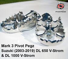 PIVOT PEGZ for Suzuki DL 650 V-Strom. DL 1000 V-Strom. (2004-2019) + BONUS