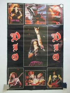VINTAGE DIO LAST IN LINE POSTER 1984 POSTER ORIG NOT REPRO 23X35 NOS ULTRA RARE