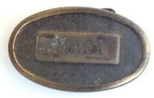 Mary Placa Estilo Hebilla de cinturón Clásico American Retro Vintage