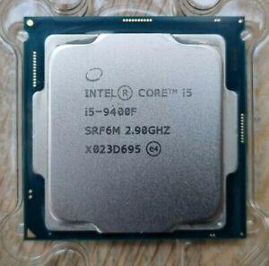 Intel Core i5-9400F 4.1GHz 65W Hexa Core Coffee Lake LGA1151 CPU SRF6M