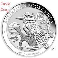 2019 Kookaburra Panda Privy 1oz Silver Coin