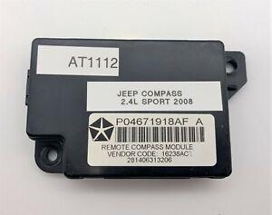 OEM 07-15 Jeep Compass Commander Nitro Remote Keyless Control Computer Module