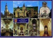 Postkarte Trier Fotokunst Schwalbe: M19 St. Paulin, Dom, Liebfrauen, St.Matthias