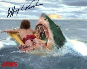 JAWS movie scene 8x10 photo signed by Jeffrey Voorhees