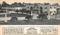 Postcard Autopia Motor Hotel and Tourist Court in Phoenix, Arizona~119949