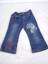 Fubu Blue Denim Classic Five Pocket Jeans Infant Girls Size 24M