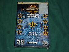 Poker Superstars II Invitational Tournament  (PC, 2007) NEW & FACTORY SEALED!